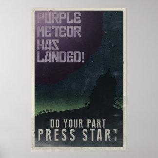狂気の大邸宅のヴィンテージポスター ポスター