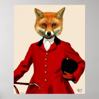 狐狩りをする人 ポスター