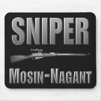 狙撃兵のMosin-Nagantのマウスパッド マウスパッド