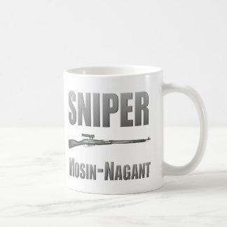 狙撃兵のMosin-Nagantのマグ コーヒーマグカップ