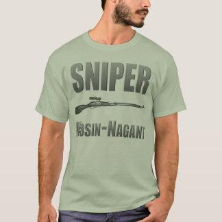 狙撃兵Mosin-Nagant Tシャツ