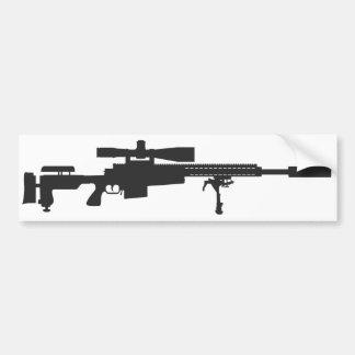 狙撃銃のバンパーステッカー バンパーステッカー