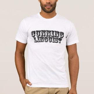 狡猾な言語学者 Tシャツ