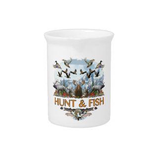 狩りおよび魚 ピッチャー