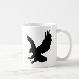 狩りのワシ コーヒーマグカップ