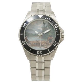 狩りの上 腕時計