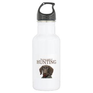 狩りの光沢のあるハイイログマの本当の精神 ウォーターボトル
