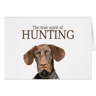 狩りの光沢のあるハイイログマの本当の精神 カード