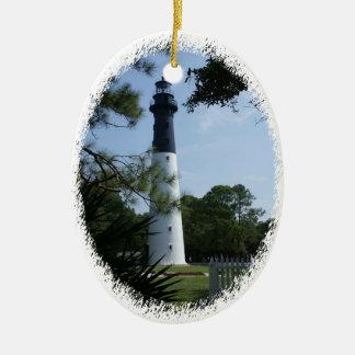 狩りの島の灯台オーナメント セラミックオーナメント