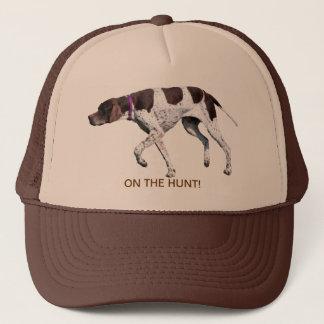 狩りの英国のポインター犬の帽子、ギフトのアイディア キャップ