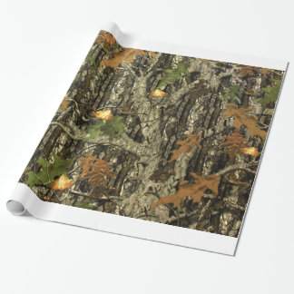 狩りの迷彩柄の包装紙 ラッピングペーパー