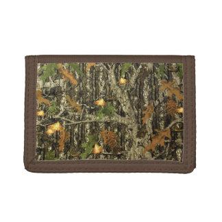 狩りの迷彩柄の財布