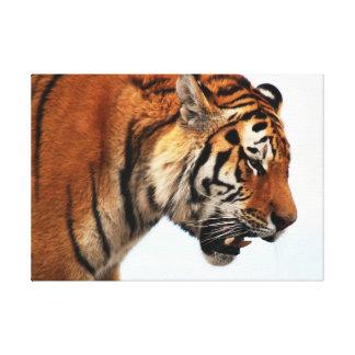 狩りポスターのトラ キャンバスプリント