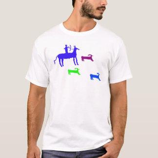 狩り場面 Tシャツ