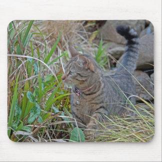 狩り猫 マウスパッド