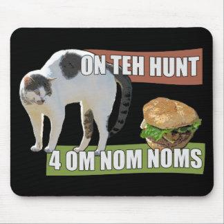 狩り4 Om Nom Noms マウスパッド