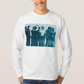 独創力のある労働力およびスタッフ職員の微笑 Tシャツ