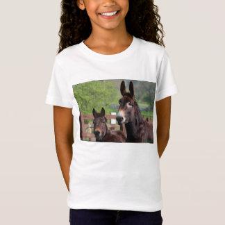 独占的なマフィン及びココヤシのTシャツ Tシャツ