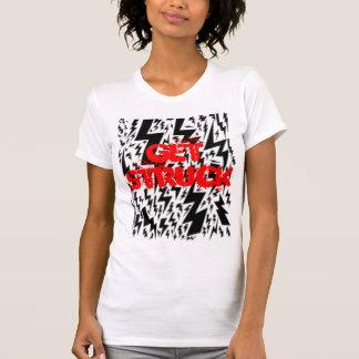 独占記事-打たれる得て下さい! Tシャツ