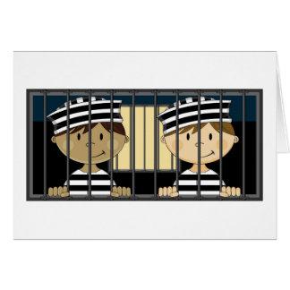 独房の漫画の囚人 カード