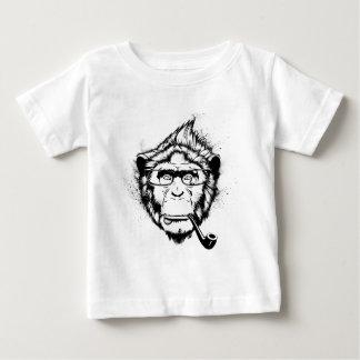 独特のチンパンジー ベビーTシャツ