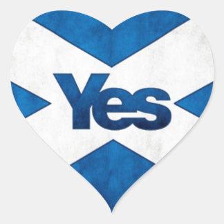 独立したスコットランド「アルバSaorへのYesはBragh行きます ハートシール