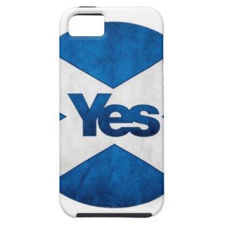 独立したスコットランド「アルバSaorへのYesはBragh行きます iPhone SE/5/5s ケース