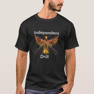 独立したドリルのTシャツ Tシャツ