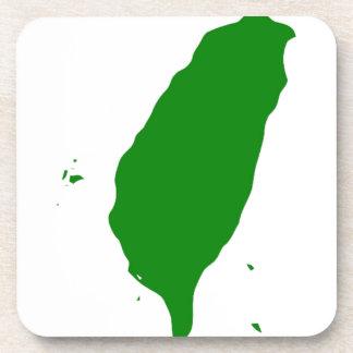 独立した台湾-臺灣獨立運動-の旗台灣獨立運動 コースター