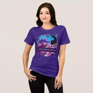 独立した女性の深い思考 Tシャツ