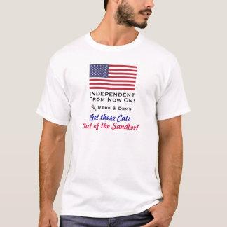 独立した Tシャツ