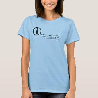 独立したlawncareの女性のTシャツ Tシャツ