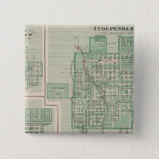 独立の計画 5.1CM 正方形バッジ