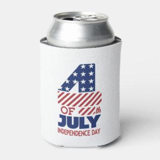 独立は7月4日の飲料のクーラーボックスを支配します 缶クーラー