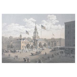 独立ホールフィラデルヒィア1876年 ギャラリーラップ