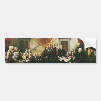 独立宣言の署名 バンパーステッカー