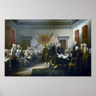 独立宣言の署名 ポスター