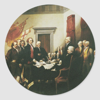 独立宣言の署名 ラウンドシール