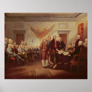 独立宣言の署名、第4 ポスター