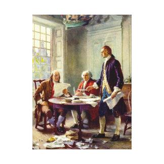 独立宣言を書くこと キャンバスプリント