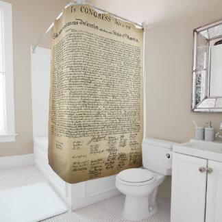 独立宣言 シャワーカーテン