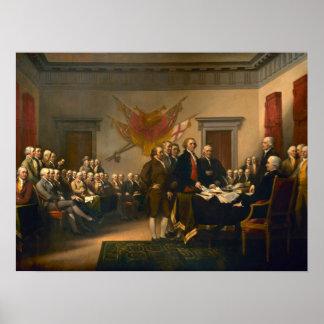 独立宣言 ポスター