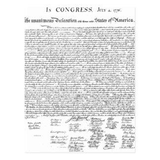独立宣言 ポストカード