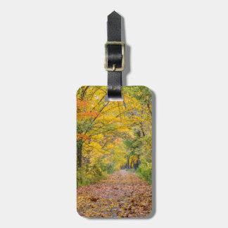 独立州立公園の秋色 ラゲッジタグ