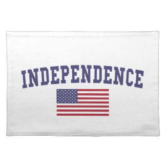 独立米国の旗 ランチョンマット