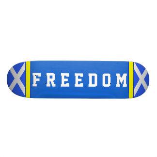 独立自由のSaltireのスコットランドのスケートボード スケートボード