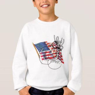 独立記念日のスピーチ スウェットシャツ