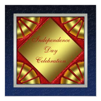 独立記念日のパーティの招待状 13.3 スクエアインビテーションカード