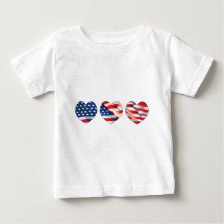 独立記念日の引用文 ベビーTシャツ