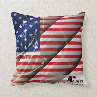 独立記念日の7月4日の(3)枕 クッション